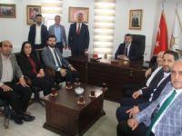 Ak Parti heyeti Hakkari'de ziyaretlerde bulundu