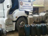 1 ton 155 litre kaçak akaryakıt ele geçirildi