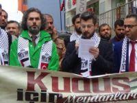 Hakkari'den İsrail ve Fransa'ya kınama!