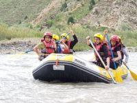 Hakkari rafting takımı Tunceli yolcusu…