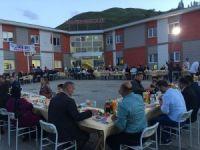 Özel Hakkari Doğu Koleji iftar yemeğe verdi