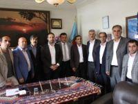 Ak Parti heyeti STK temsilcilerini ziyaret etti
