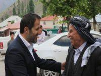 AK Parti heyeti ziyaretlerini sürdürüyor