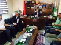 Milletvekili adayı Özbek'ten Hatso'ya ziyaret