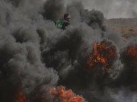 İsrail'den Gazze'ye saldırı!