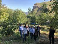 Başkan Epcim Atay ailesini ziyaret etti