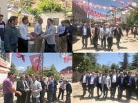 Ak Parti heyeti Çukurca'yı ziyaret etti