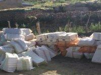Anadağ kırsalında bin adet sigara ele geçirildi