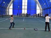 Yüksekova' tenis kortu ile tanıştı