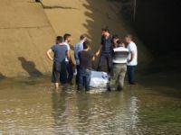 Serinlemek için girdiği sulama kanalında boğumdu!