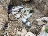PKK sığınağında tonlarca malzeme ele geçirildi