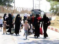 44 bin Suriyeli Türkiye'ye döndü