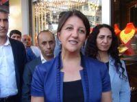 HDP Eş Genel Başkanı Buldan esnafları ziyaret etti
