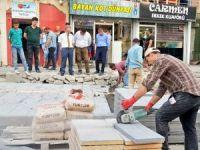 Hakkari'de Prestij Cadde çalışmaları sürüyor