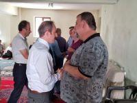 Başkan Epcim, taziye ziyaretlerinde bulundu