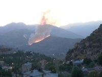 Çukurca'daki orman yangını kontrol altına alndı