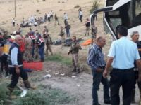 Ak Parti otobüsü kaza yaptı: 5 ölü, 13 yaralı