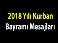 2018 yılı Kurban bayramı mesajları