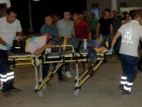 Düğün yolunda kaza: 8 yaralı, 1 ölü