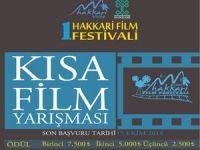 1. Hakkari ulusal film festivali film yarışmaları başmadı