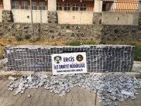 15 bin 146 paket kaçak sigara ele geçirildi