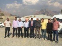 Başkan Arslan, okul servis araçlarını denetledi
