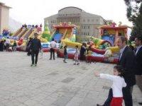 Başkan Epcim, çocuk etkinliğine katıldı