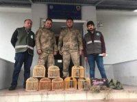 Kaçak keklik avcılarına 14 bin 982 lira ceza!
