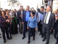 HDP Eş Genel Başkanı Temelli, ziyaretlerde bulundu