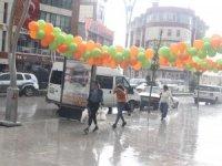 Hakkari'deki kısa yağış vatandaşlara zor anlar yaşattı
