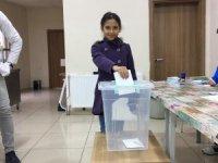 Özel Hakkari Doğu kolejinde seçim heyecanı