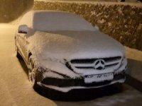 ilk kar yağışı etkili olmaya başladı
