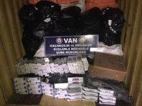 14 bin 790 paket kaçak sigara ele geçirildi