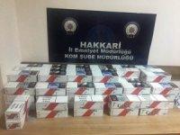 4 bin 500 paket sigara ele geçirildi