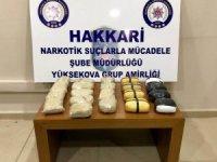 Yüksekova'da 11 kilo eroin ele geçirildi