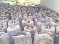 1 ton 734 litre akaryakıt ele geçirildi!
