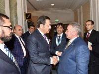 Başkan Pınar, Bakan Pekcan'la bir araya geldi