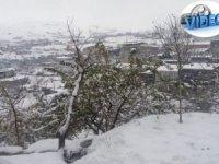 Hakkari'de kar manzaları, belediye hızlı başladı!