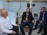 Başkan Epcim'den kanaat lideri Adıyaman'a ziyaret