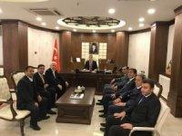 Başkan Erden'den Vali Akbıyık'a ziyaret!