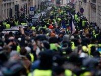Sarı yelekliler protestosu: 278 gözaltı