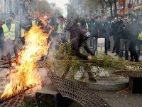Fransa'daki eylemlerde bin 723 kişi gözaltına alındı