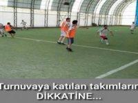 Hakkârihabetv kurumlar arası halı saha futbol turnuvası kura çekimi