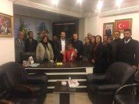 Gençlik engellilerden Başkan Gür'e ziyaret