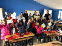 VEDAŞ'tan köy okulunu güzelleştiren çalışma