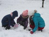 Kar yağışı nedeniyle eğitime bir gün ara verildi