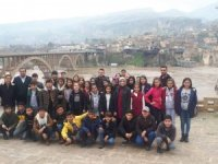 """Hakkari'de """"Okul destek projesi"""" gezisi"""