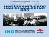 Hakkari İHD'den 19 Aralık açıklaması