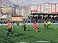 Hakkari Sportif Faaliyetler Spor Kulübü 2-1 kazandı