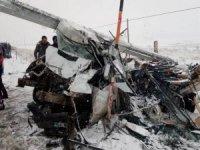 trafik kazası; 6 yaralı
